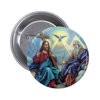 Holy Trinity 6 Cm Round Badge