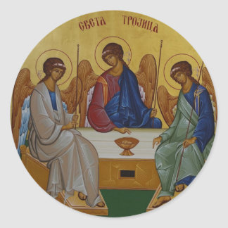 Holy Trinity Round Sticker