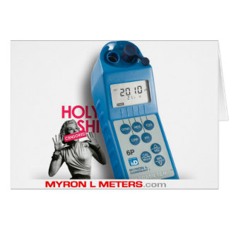 HOLY Ultrameter Greeting Card