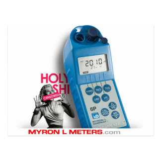 HOLY Ultrameter Postcard