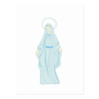 Holy virgin Mary, mother of Jesus,mother of God Post Cards
