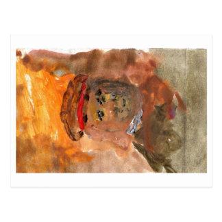 Homage to Rembrandt postcard