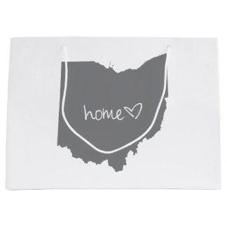 Home <3 Ohio Large Gift Bag