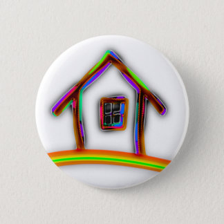 Home 6 Cm Round Badge