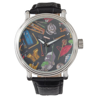 Home and Garden Tools Wrist Watch