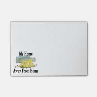Home Away From Home Post-It Notes