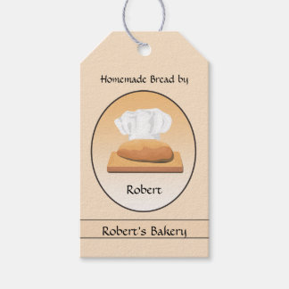 Home Baked Bread Bakery Gift Tag