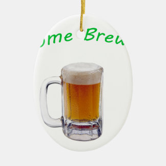Home Brewer Ceramic Oval Decoration