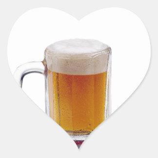 Home Brewer Heart Sticker