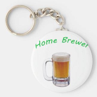 Home Brewer Key Chain