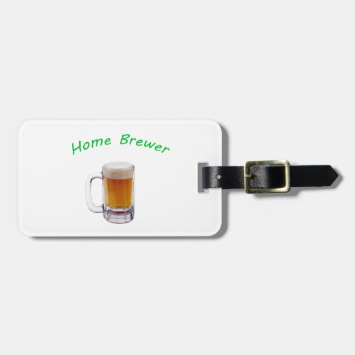 Home Brewer Travel Bag Tags