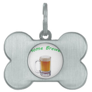 Home Brewer Pet ID Tags