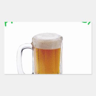 Home Brewer Rectangular Sticker
