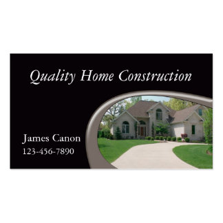 Home Builder Pack Of Standard Business Cards