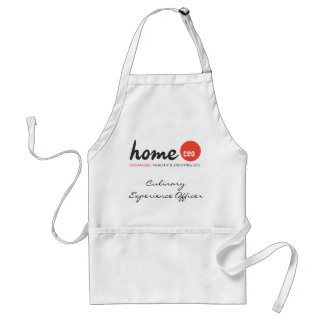Home CEO Apron (White) Culinary Experience Officer