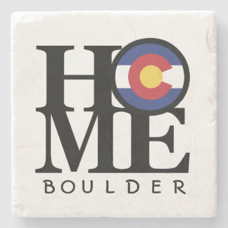 HOME Colorado Boulder Stone Coaster