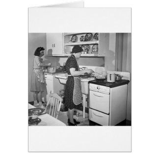 Home Cooking: 1942 Card