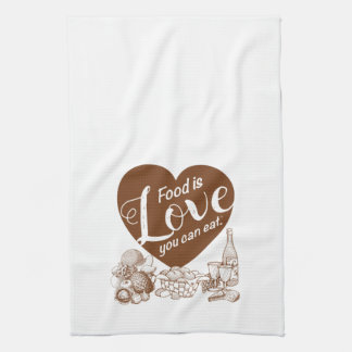 Home Cooking Solid Apron Tea Towel