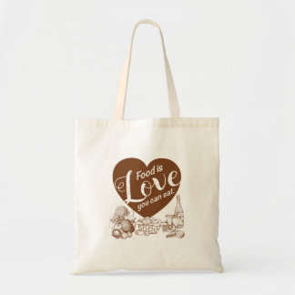 Home Cooking Solid Tote Bag