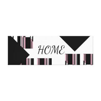 HOME DESIGN CANVAS PRINT