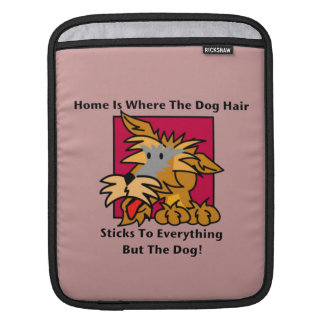Home Dog Hair Sleeves For iPads