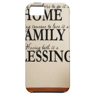 Home + Family = Blessing Case For The iPhone 5