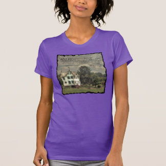 Home Fires Burning WOMEN'S T-shirt with quote