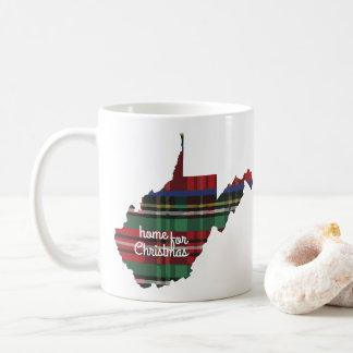 Home For Christmas West Virginia Mug