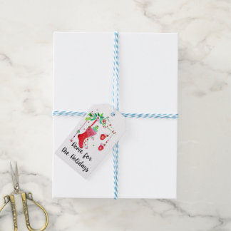 Home for the Holidays Christmas Gift Tags