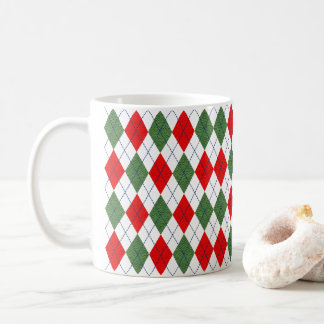 Home for the Holidays Red and Green Coffee Mug