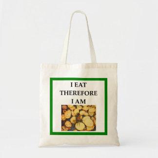home fries tote bag