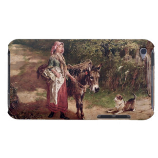 Home from Market (oil on canvas) Barely There iPod Case