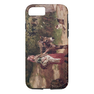 Home from Market (oil on canvas) iPhone 7 Case