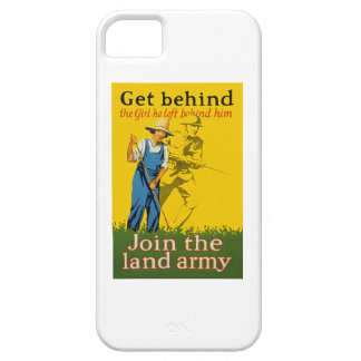 Home Front Join the Land Army WWI Propaganda Case For The iPhone 5