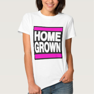 Home Grown Pink Tshirts