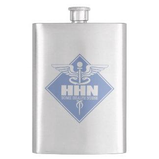Home Health Nurse Hip Flask