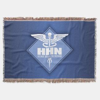 Home Health Nurse Throw Blanket