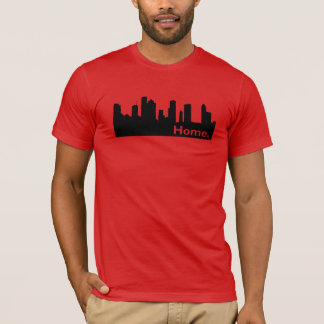 Home - Houston Skyline T-Shirt