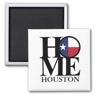 HOME Houston Texas Magnet