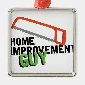 Home Improvement Metal Ornament