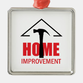 HOME IMPROVEMENT METAL ORNAMENT