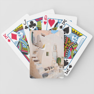 Home in Santorini Bicycle Playing Cards