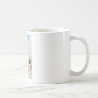 Home in Santorini Coffee Mug