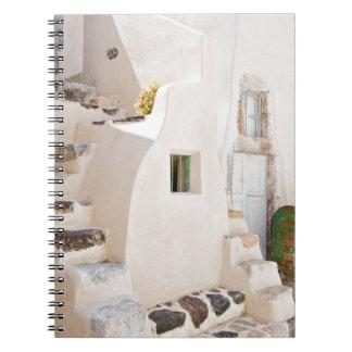 Home in Santorini Notebook