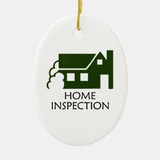 HOME INSPECTION CERAMIC ORNAMENT