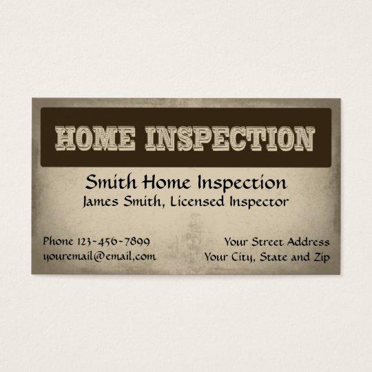 Home Inspection Inspec...
