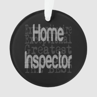 Home Inspector Extraordinaire Ornament