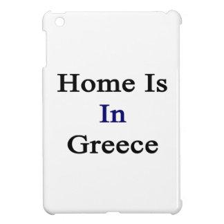 Home Is In Greece iPad Mini Cover