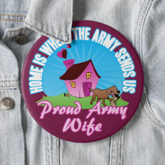 Home Is Where... 6 Cm Round Badge