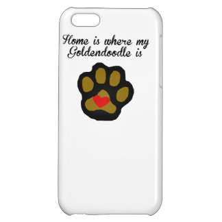 Home Is Where My Goldendoodle Is iPhone 5C Covers